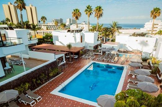 Hotel Coral Dreams zonneterras