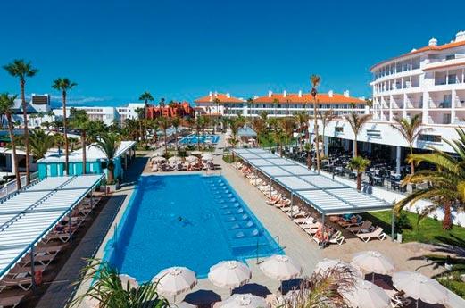 Hotel Riu Arecas zwembad