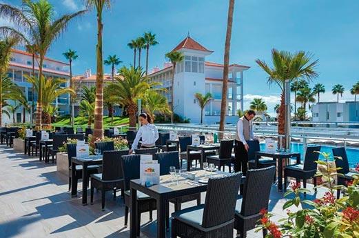 Hotel Riu Arecas terras