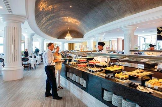Hotel Riu Palace Tenerife buffet