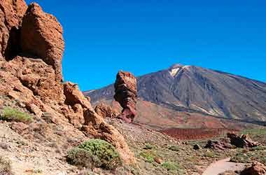 Nationaal Park El Teide rotsen