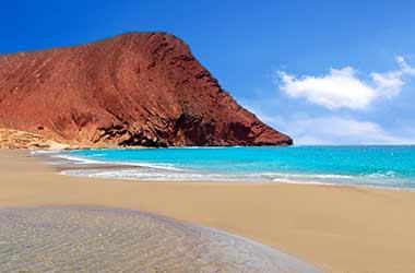 Playa de la Tejita strand