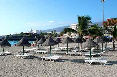 Playa Torviscas strand