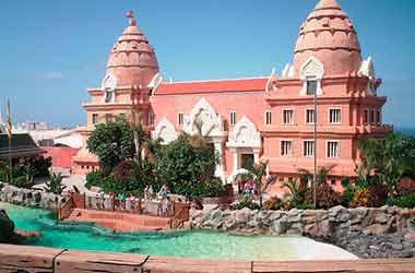 Waterpark Siam Park Tenerife gebouw