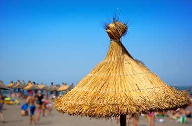 Playa de la Tejita parasol