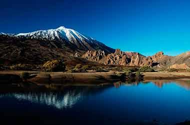 Vulkaan El Teide berg